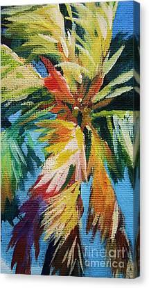 Vivid Palm Canvas Print