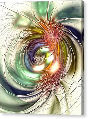 Vivid Vision Canvas Print by Anastasiya Malakhova