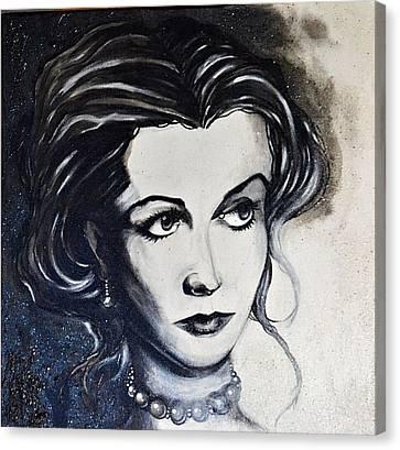 Vivien L. Canvas Print by Sandro Ramani