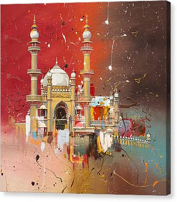Vizhinjam Mosque Canvas Print by Corporate Art Task Force