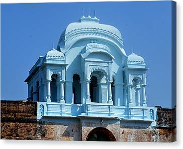 Vizianagaram Forte Canvas Print by Johnson Moya