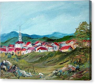 Vladeni Ardeal - Village In Transylvania Canvas Print