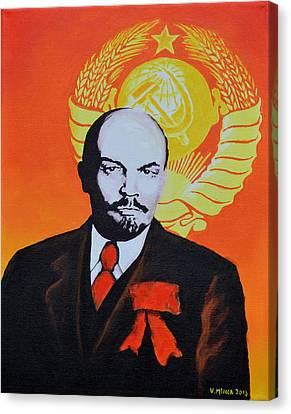 Vladimir Lenin Canvas Print