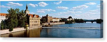 Vltava Canvas Print - Vltava River, Prague, Czech Republic by Panoramic Images