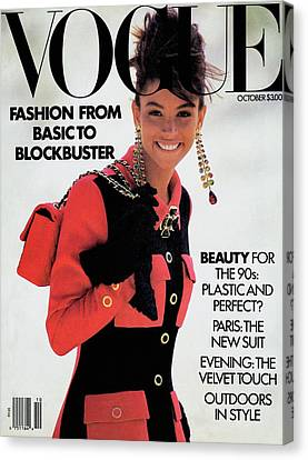 Vogue Cover Featuring Kara Young Canvas Print