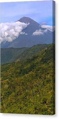 Canvas Print featuring the photograph Volcano - Bali by Matthew Onheiber