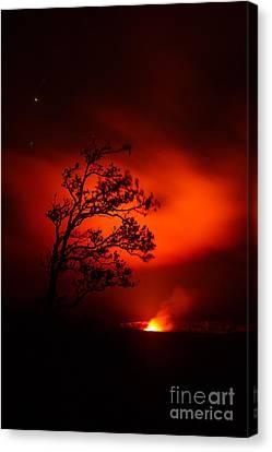 Volcano National Park Hawaii Canvas Print