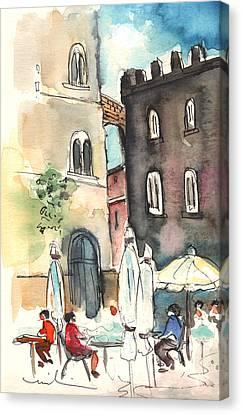 Volterra In Italy 01 Canvas Print