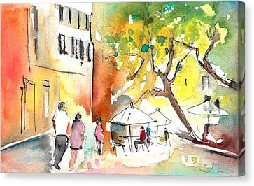 Volterra In Italy 02 Canvas Print