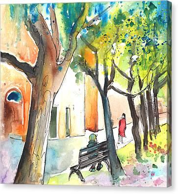 Volterra In Italy 03 Canvas Print