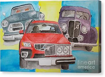 Volvo Nostalgi Canvas Print by Eva Ason
