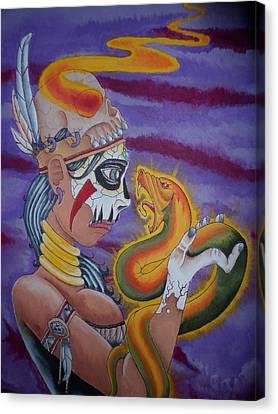 Voodoo Canvas Print by Christian Calvio