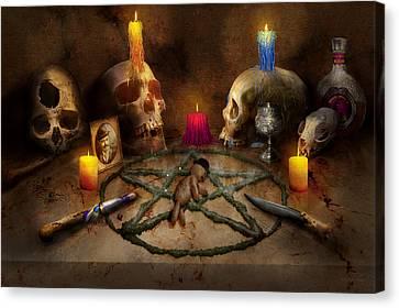Voodoo - The Power Of Voodoo Canvas Print by Mike Savad