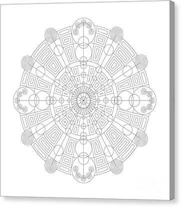 Vortex Canvas Print by DB Artist