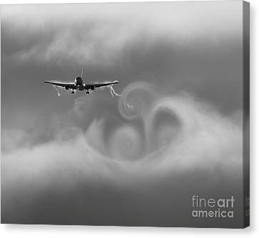 Vortexes Canvas Print by Alex Esguerra