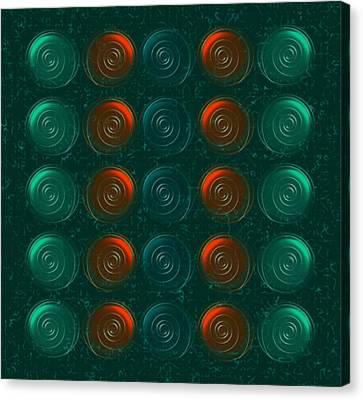 Vortices Canvas Print by Anastasiya Malakhova