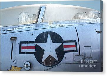 Vought Crusader 8-u1 Canvas Print by Gregory Dyer