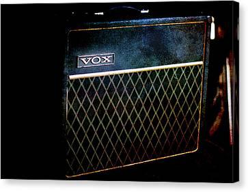 Vox Guitar Amplifier Canvas Print