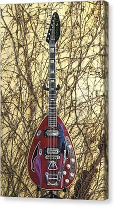Vox Starstream Vi Guitar 1967 Canvas Print
