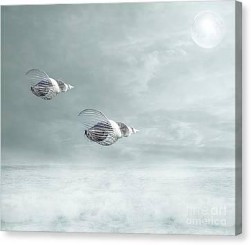 Voyage Canvas Print by Jacky Gerritsen