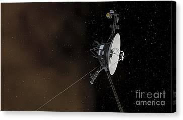 Voyager 1 Spacecraft Entering Canvas Print