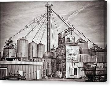 Voyces Mill Canvas Print by Sennie Pierson