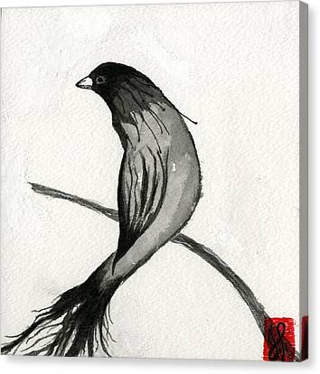 Voyeur   Canvas Print by Jamie Seul