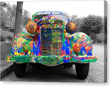 Auto Jobs Canvas Print - Vrrooomm by Jim Hughes