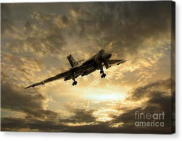 Vulcan Cometh Canvas Print by J Biggadike