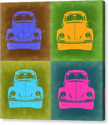 Beetle Canvas Print - Vw Beetle Pop Art 6 by Naxart Studio