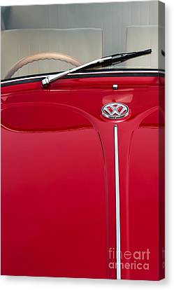 Volkswagon Canvas Print - Vw Beetle by Tim Gainey