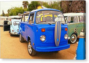 Vw Heaven Canvas Print by Ron Regalado