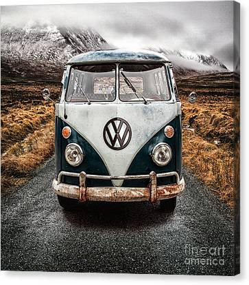 Vw In Glen Etive Canvas Print