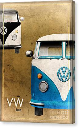 Vw The Bus Canvas Print by Tim Gainey