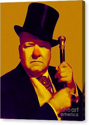 W C Fields 20130217p80 Canvas Print by Wingsdomain Art and Photography