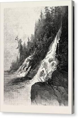 Wa-sitch-e-wan Falls, Canada Canvas Print