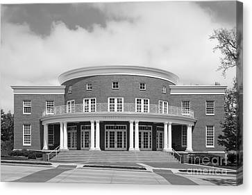 Wabash College Trippet Hall Canvas Print by University Icons