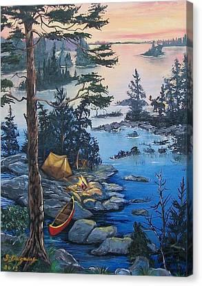 Wabigoon Lake Memories Canvas Print