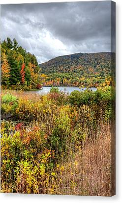 Wachusett Mt. In Autumn Canvas Print