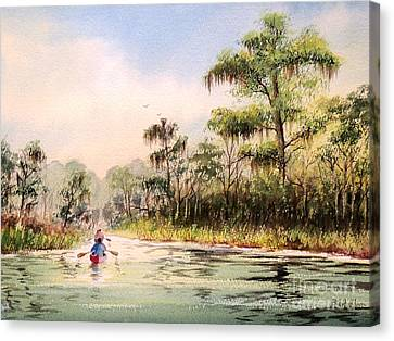 Wacissa River  Canvas Print