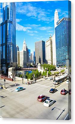 Wacker And State  Canvas Print