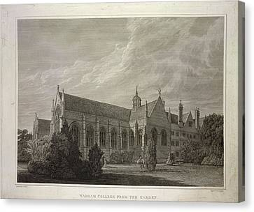 Wadham College Canvas Print by British Library