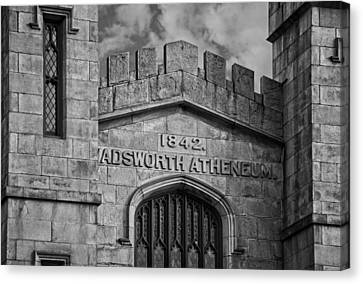 Wadsworth Atheneum Canvas Print by Phil Cardamone