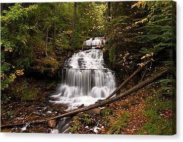 Wagner  Falls Canvas Print by James Marvin Phelps