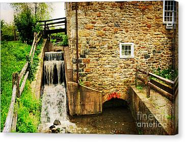 Wagner Grist Mill Canvas Print