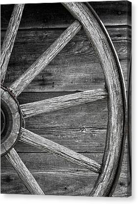 Wagon Wheels Canvas Print - Wagon Wheel  by The Artist Project