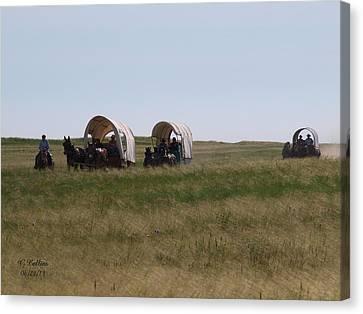Wagons Ho Canvas Print