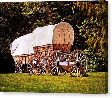 Canvas Print - Wagons Ho by Marty Koch