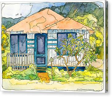 Waianae House Canvas Print