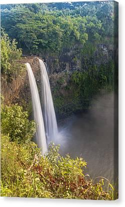 Wailua Falls - Kauai Hawaii Canvas Print by Brian Harig
